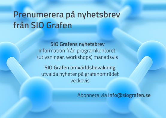 Abonnera på SIO Grafens nyhetsbrev